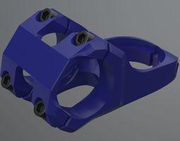3d realistic bicycle stem part