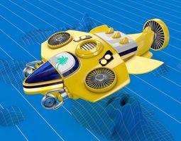 3D Submarine Capital Ship