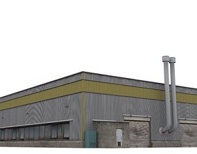 3D model realtime Hangar