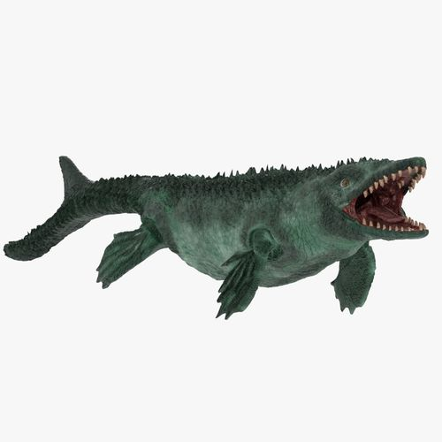 Mosasaur 3d Model Low Poly Cgtrader