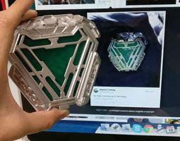 New Arc reactor Iron man Infinity war 3D printable model