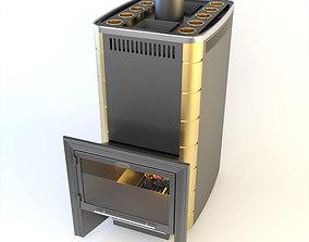 3D model SiberStove Business Class Wood-Burning Hot 2