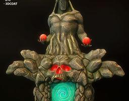 Fantasy stylized portal 3D model
