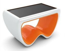 3D model display Cras W 55SE Multitouch Table
