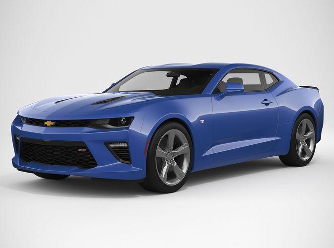 Chevrolet Camaro 2018 | 3D model