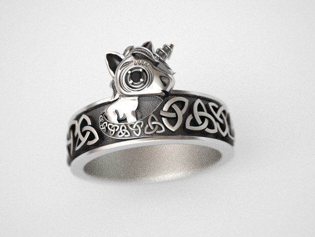 Unicorn Ring - replica