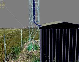 Cellular mast 3D model