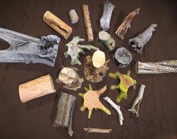3D asset Forest Elements
