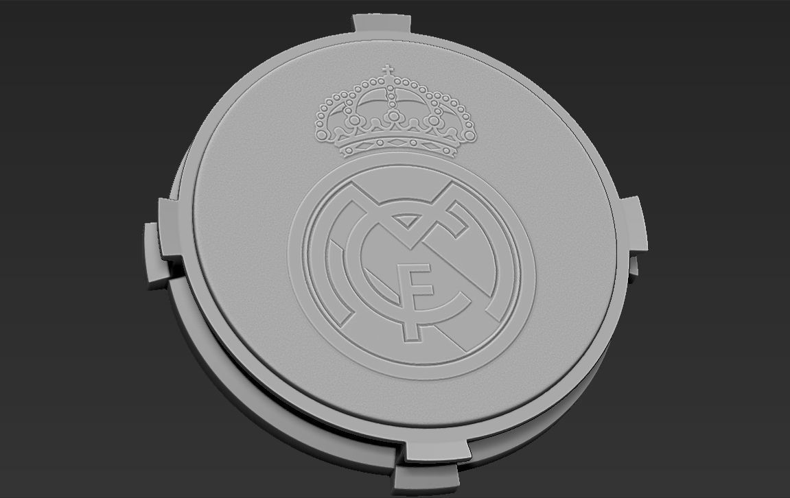 Decorative Real Madrid Base Stand for figurines