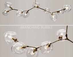3D model Branching bubble 9 lamps by Lindsey Adelman CKEAR