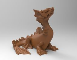 dragon amphibian 3D print model