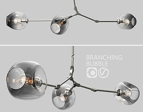 3D Branching bubble 3 lamps 2 by Lindsey Adelman DARK