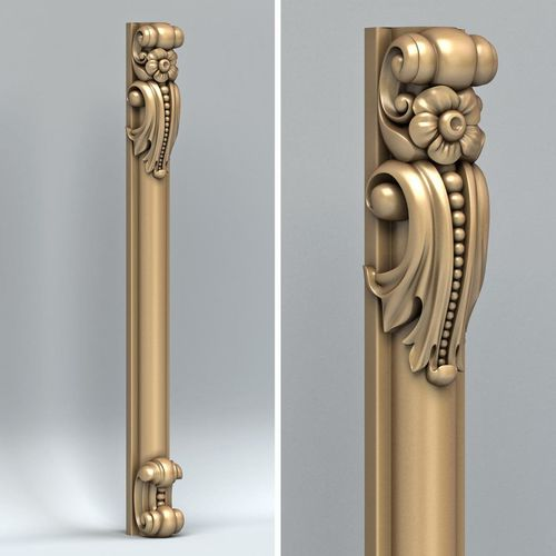 pillar 005 3d model max obj mtl fbx stl 1