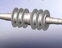 Centrifugal Compressor Rotor 3D