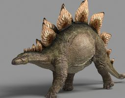 Stegosaurus animations 3D model