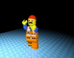 Lego character person 3D