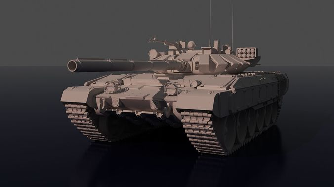 fictitious tank based on the t-72 3d model obj mtl 3ds 1