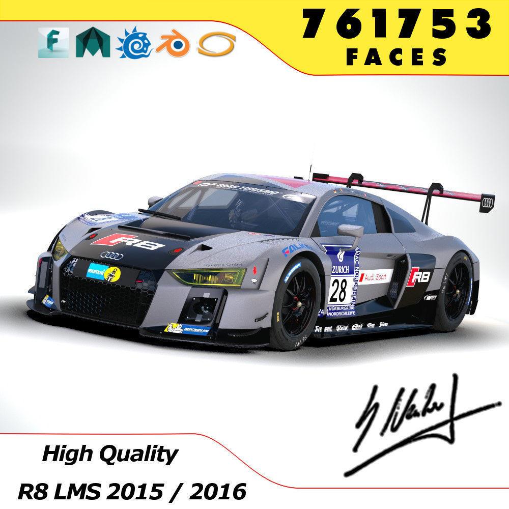 Audi R8 LMS 2016 2017