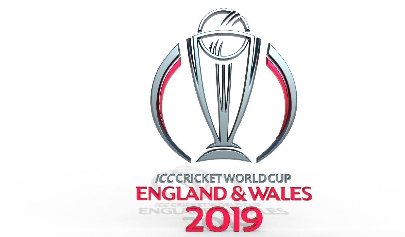 ICC Cricket World Cup 2019 Official Emblem | 3D model