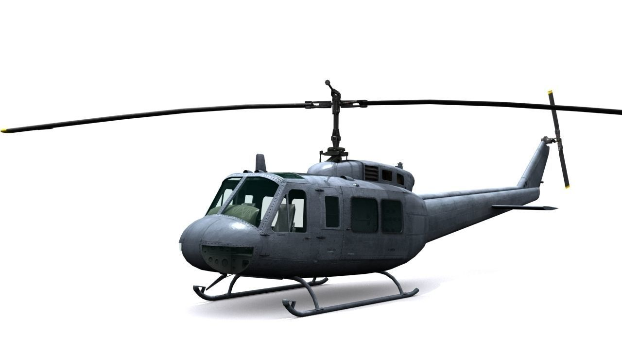 Helicopter UH 1