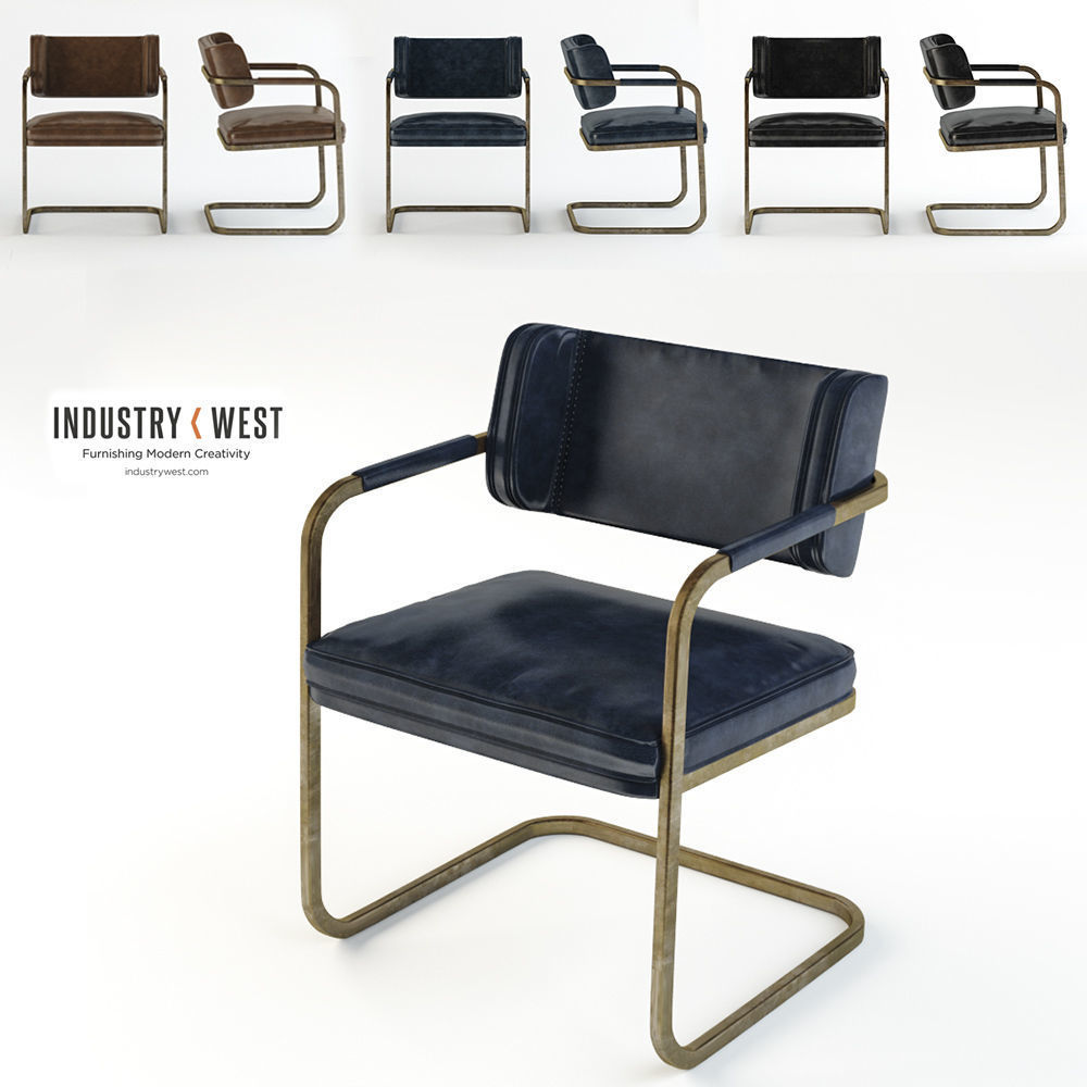 Jimmy Cooper Chair Industry West 3d Cgtrader