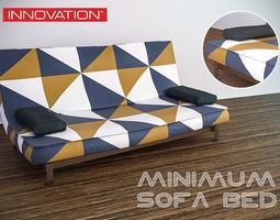 Innovation Minimum sofa bed 3D