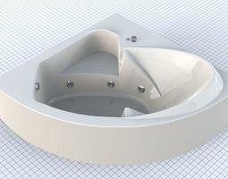 Modern Bath 3D model