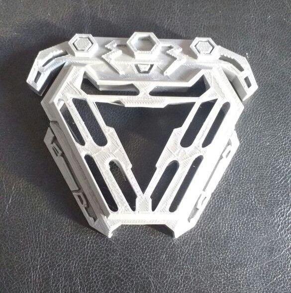 Elegant ... Nanotech Iron Man New Arc Reactor From Infinity War 3d Model Stl 3 ...