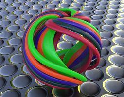 twisted triply gravity spherize 3d print model