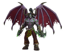 Warcraft Illidan Animated and 3D model VR / AR ready 1