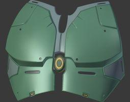 SWTOR Jedi Armor 3D print model
