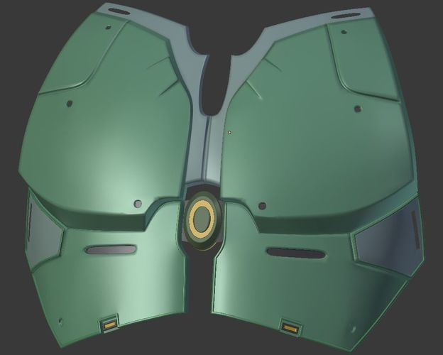 swtor jedi armor 3d model stl 1