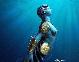 Battle Mermaid 3D