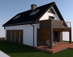 house building PLA file 3D