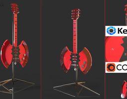 3D model ELECTRIC GUITAR - Ax guitar
