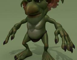 3D model Cartoon Fantasy Monster
