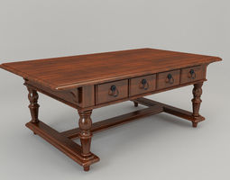Tea table-DB-26 3D