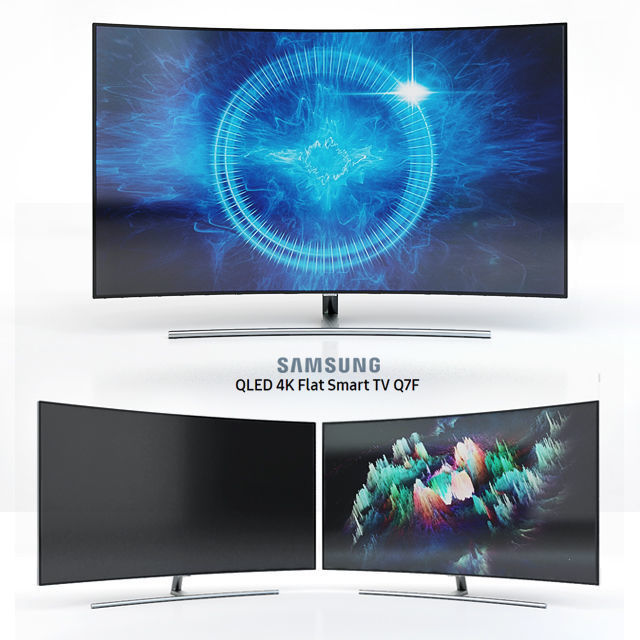 Samsung 55 and 65 QLED 4K Curved Smart TV Q8C