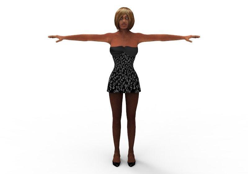 Naomi Lunsei Female Women 45 Years FBX