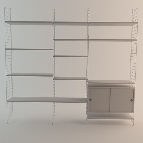 co uk buy the and nest product string shelf system at white
