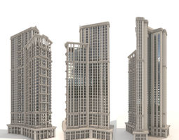 Residential Tower 3D