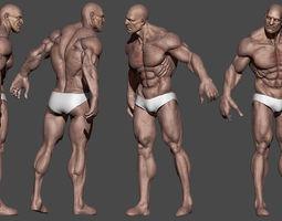 3D model Human Male Character