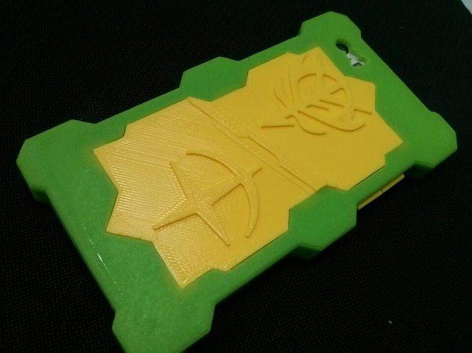 iphone 5s case 3d model stl 1