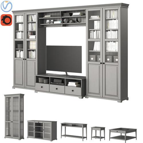 ikea liatorp furniture 3d model max obj mtl tga 1