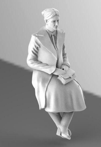 female woman 3d model