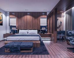 master bedroom furniture 3D model