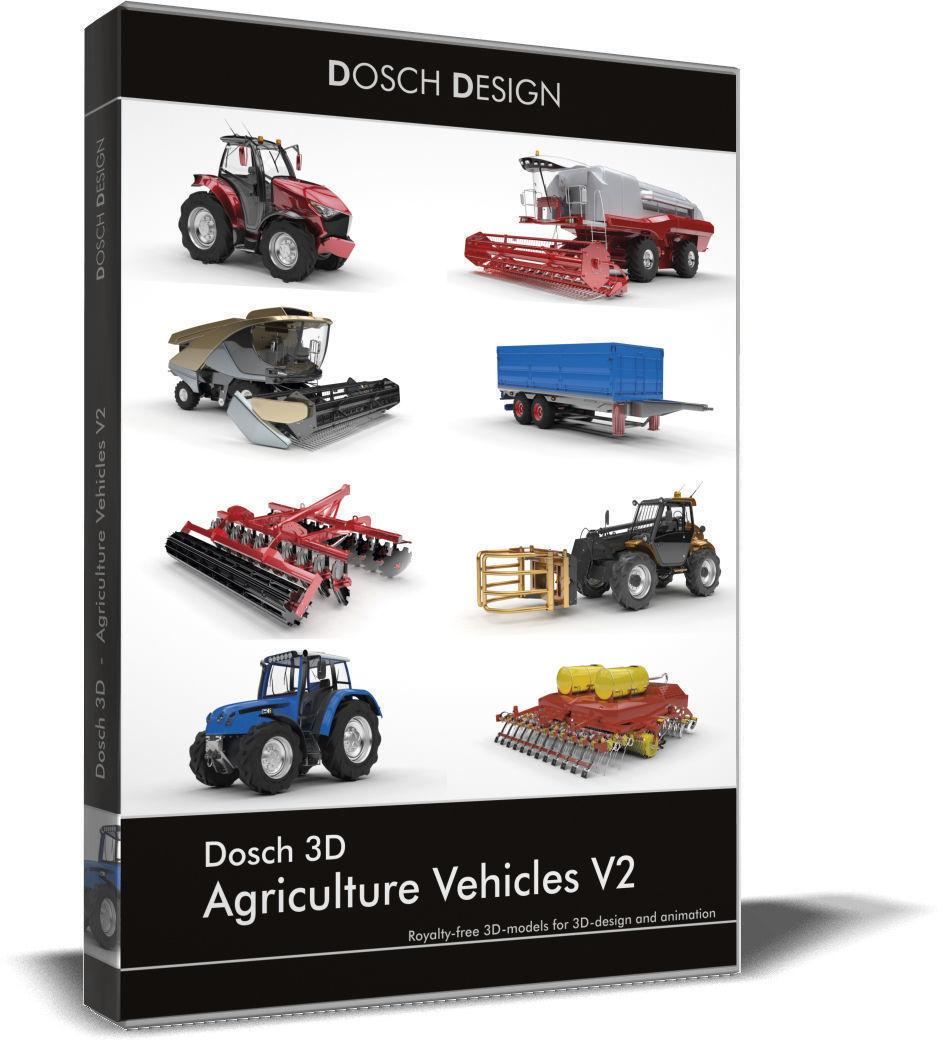 DOSCH 3D Agriculture Vehicles V2