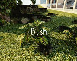 3D model Luxury Bush