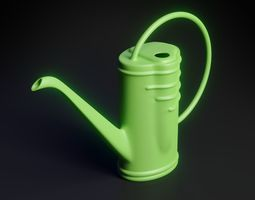 3D model cycles Watering Can