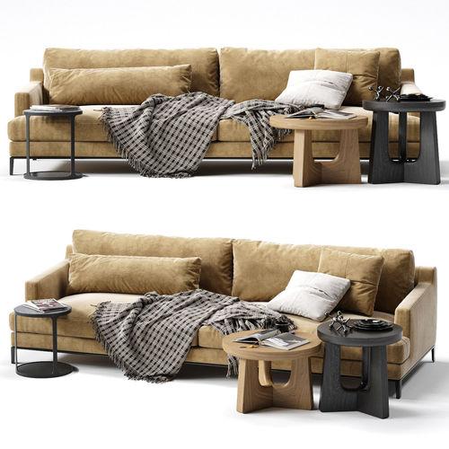 poliform bellport sofa 3d model max obj mtl fbx 1